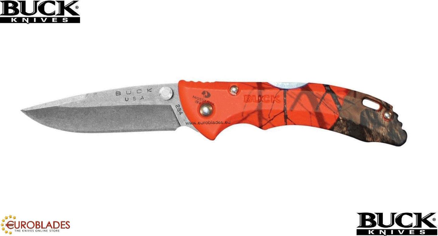 "BUCK 284 ""Bantam® Knife"", Tourist and camping knife with folding blade.The knife is made of stainless steel model: 420HC.Blade size of 7.0 cm and total length of 16.0 cm.Manufacturer: BUCK"