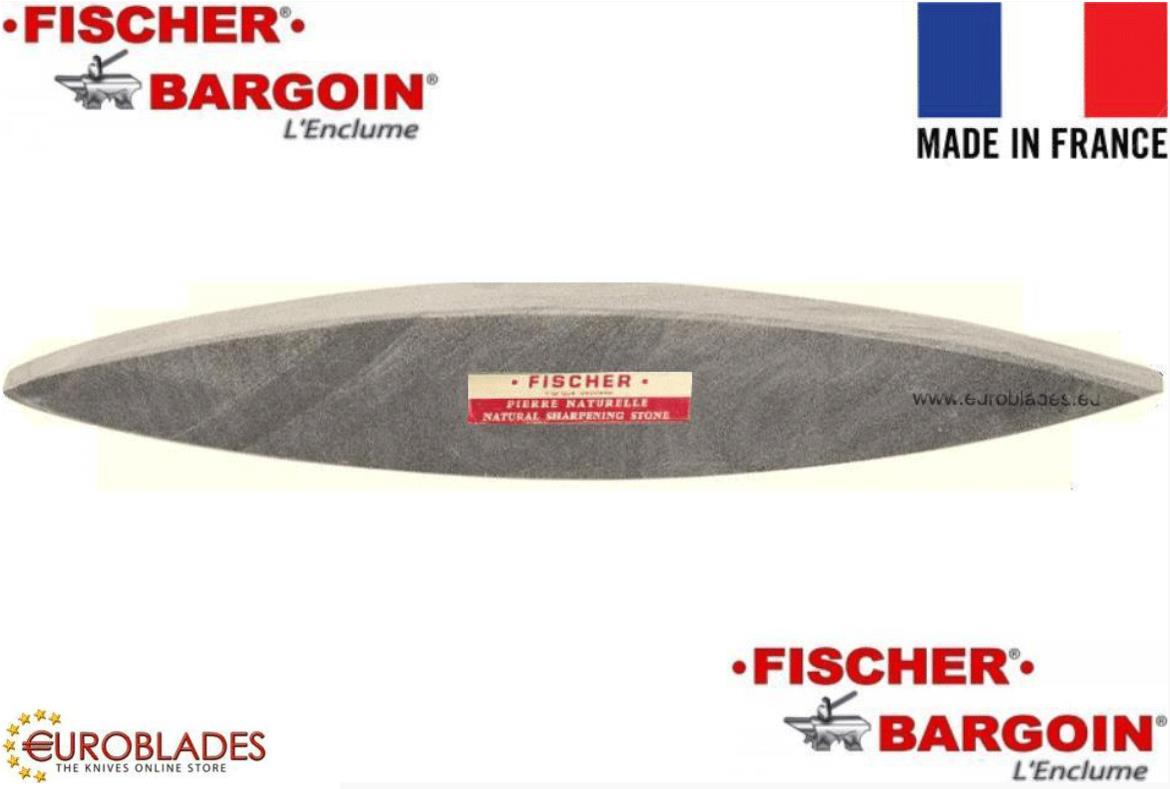 Fischer Bargoin, Natural stone, suitable for rough sharpening of all kinds of knives and cutting tools, Grain size: 600, Manufacturer: Fischer Bargoin
